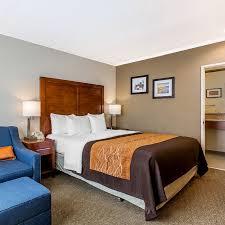 comfort inn santa monica west los angeles room 1 king bed