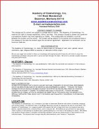 Cosmetologist Resume 100 Awesome Cosmetology Resume Samples Resume Writing Tips 17
