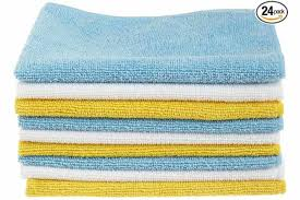 microfiber cleaning cloth 24 pack