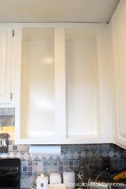adding glass to kitchen cabinet doors 11