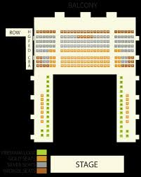 Seating Chart Jefferson Center