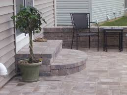patio steps backyard patios and