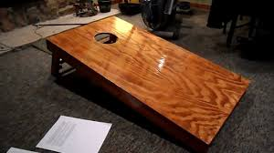 Wooden Corn Hole Game Upgrades to My Cornhole Gameboard YouTube 35