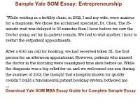 how to answer yale som mba commitment essay entering class   s yale som mba essay guide for complete essay tips and 5 sample essays