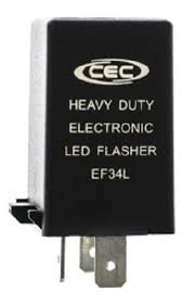 amazon com cec industries ef34l electronic turn signal flasher 3 Prong Led Flasher Schematic cec industries ef34l electronic turn signal flasher relay, led compatible, 3 prongs, 12 Plug in LED Flasher Kit