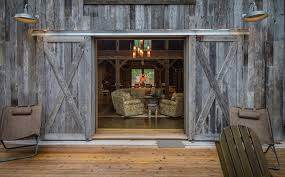 barn door interior entry rustic with barn barn doors brown image by rmt architects