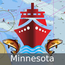 Navigation Charts For Iphone Minnesota Fishing Lake Maps Navigation Charts