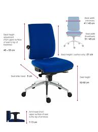 ergo plus 24 hour executive operators chair 9600 r510 enlarged view