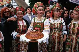attachment mummy days blog posts attachmentmummy com a group of russian women dressed in an elaborate old fashioned russian style wait to greet boris yeltsin during the 1996 russian presidential election