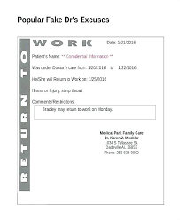 Doctors Excuse Note For Employee Sample Download Appointment Slip