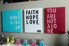 quotes on canvas wall art blue i wont give up white aith hope love red you on make your own wall art quotes on canvas with wall art best sample ideas quotes on canvas wall art quotable
