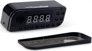 Margoun Stylish Alarm Clock And HD Wifi Motion Detector, Black Price In  Dubai, UAE | Compare Prices