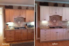 painted oak kitchen cabinets before and after. Painted Cabinets Nashville Before And After Photos Kitchen Cupboards Painting Maple Cupboard Paint Non Wood White Oak K