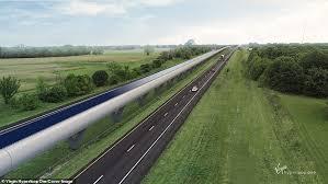 the heartland hyperloop would run along the i 70 corridor the major