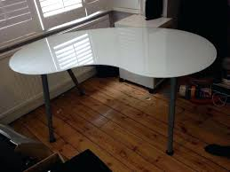 ikea glass table round