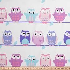 Owl Curtains For Bedroom Kids Curtain Fabrics At Spotlight Cute Fabrics For Kids