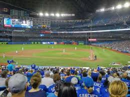 Rogers Centre Section 125r Home Of Toronto Blue Jays