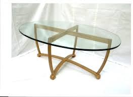 ethan allen oval coffee table glass oval coffee table oval glass coffee table ethan allen georgian