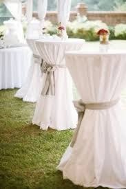 cocktail tables. Cocktail Tables For Outside Before The Ceremony- This Is What