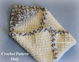 Bernat Baby Blanket Yarn Patterns Best Hooded Baby Blanket Crochet Pattern Easy To Make Bernat Baby Etsy