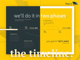 Project Proposal Timeline By Heurist On Dribbble