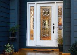 decorative glass door inserts with old paris decorative style