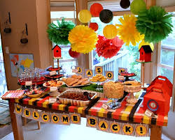 Design Party Decorations Gorgeous Welcome Home Party Decorations Trend With Images Of Welcome Home
