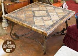 Iron And Stone Coffee Table Awesome Stone Top Coffee Table Image Hd Lollagram