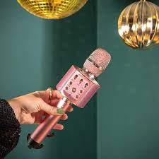 Lenco BMC-090 Karaoke Microphone - Bluetooth V4.2: Amazon.de: Elektronik