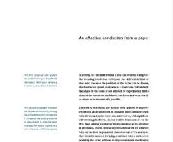 scientific papers learn science at scitable the conclusion