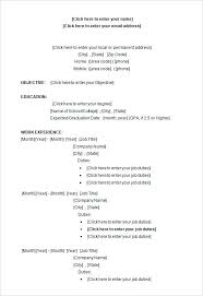 Resume Word Document Template Awesome Resume Format Word Document Templates Free Download For Samples