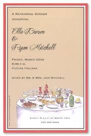 Formal Dinner Invitation Sample Mesmerizing Elegant Italian Dinner Invitations MyExpression 48