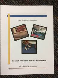ECO helps write The Carpet & Rug Institute mercial Carpet