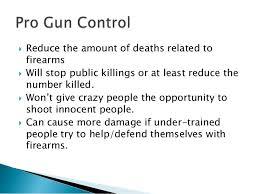 gun control rogerian argument 3
