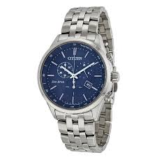 citizen sapphire collection blue dial mens watch at2141 52l zoom