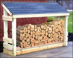 outdoor wood rack plans - Google Search