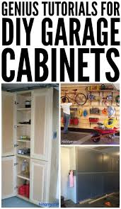 Image Bench One Crazy House Genius Tutorials For Diy Garage Cabinets