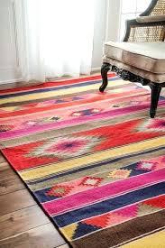 kilim area rug southwestern lodge tribal multi rugs by orange style