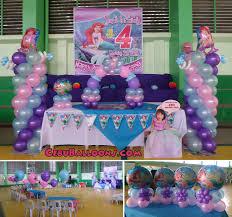 Sports Themed Balloon Decor Little Mermaid Ariel Cebu Balloons And Party Supplies