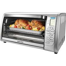 black decker countertop convection toaster oven 0 10 ft³ capacity 1500 w
