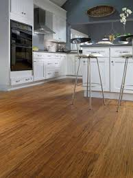 Is Bamboo Flooring Good For Kitchens Bamboo Flooring For Kitchen With White Cabinets And Grey Walls
