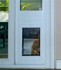 cat door window insert cat door for window cat door window insert security boss sliding window