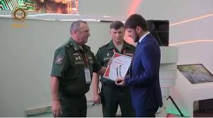 Экспозиция Чечни на iii Международном военно техническом форуме  Экспозиция Чечни на iii Международном военно техническом форуме Армия 2017 получила диплом За лучший инновационный проект Информационное агентство