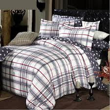 grey plaid comforter. Fine Comforter Natural Cotton Grey Clearance Plaid Comforter Sets In K