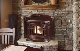 Enviro Milan Pellet Stove Insert  Fineu0027s GasPellet Stove Fireplace Insert