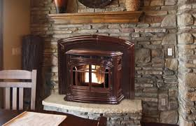 enviro m55 pellet burning fireplace insert features cast iron construction multi fuel compatible air wash system for cleaner glass