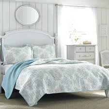 coastal collection quilt sets seashell coverlet pink anchor bedding beach house sets montego bay nautical seas
