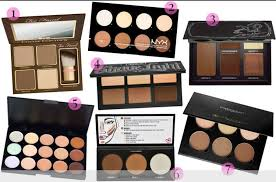 a list of contour kits to strengthen your contour game