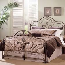 iron bedroom furniture. Provence Iron Bed In Antique Gold Bedroom Furniture