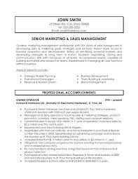 Marketing Manager Resume Example Resume For Marketing Job Resume